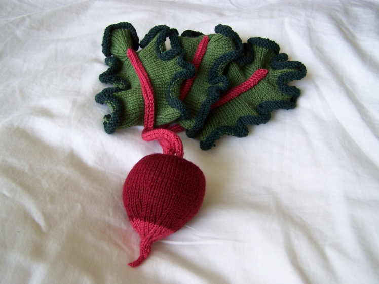Beet, pattern by Norah Gaughan